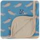 Kickee Pants Blue Otter Swaddle