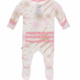 Kickee Pants Sea Garden Muffin Ruffle Footie