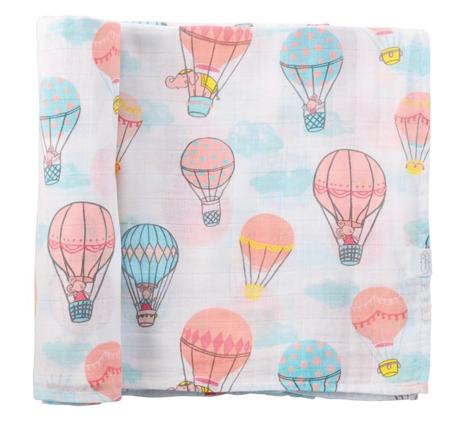 Mudpie Balloon Muslin Swaddle