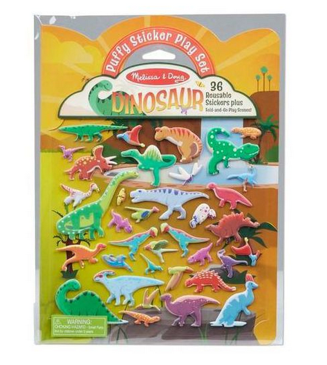 Melissa & Doug Puffy Sticker Play Set Dino