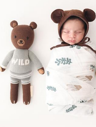 Cuddle + Kind Oliver The Bear Small