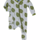 Kickee Pants Dew Philodendron Footie
