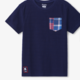 Hatley Navy Graphic Pocket Tee