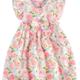 Mudpie Swirl Floral Toddler Dress