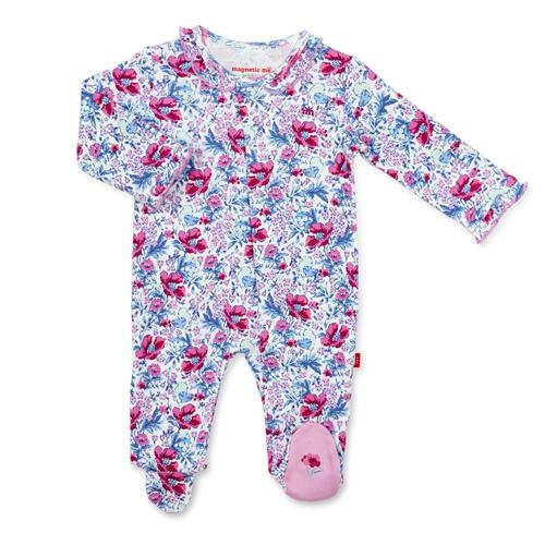 Magnificent Baby Darlington Floral Magnetic Coverall