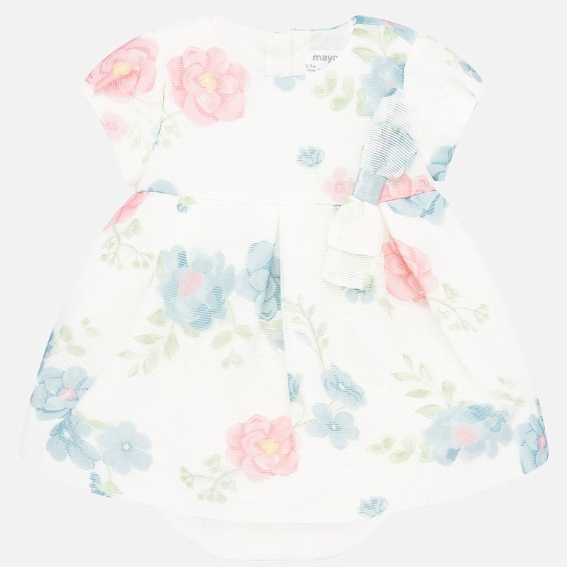 Mayoral Watercolor Flower Dress
