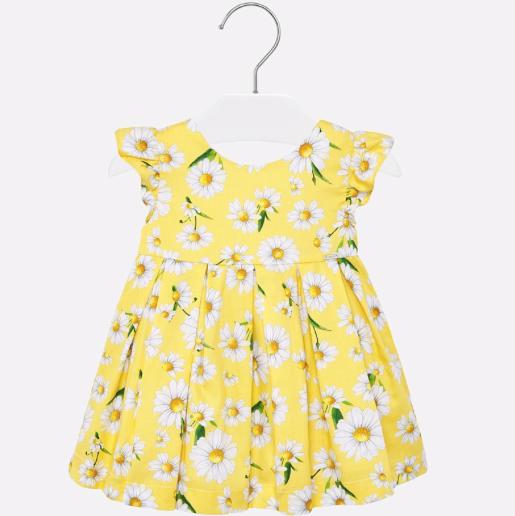 Mayoral Yellow Daisy Dress