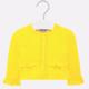 Mayoral Yellow Knit Cardigan