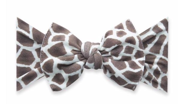 Baby Bling Printed Knot Giraffe