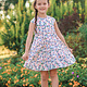 Mabel + Honey Pretty in Flora White Dress