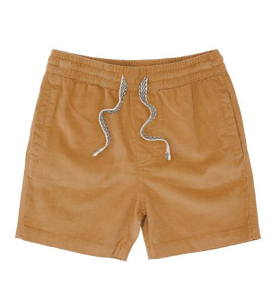 Feather 4 Arrow Camel Shorts
