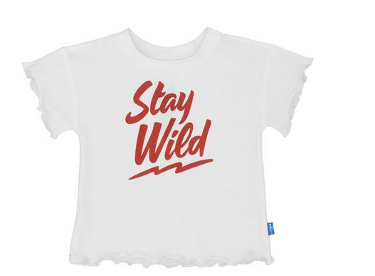 Feather 4 Arrow Stay Wild White Tee