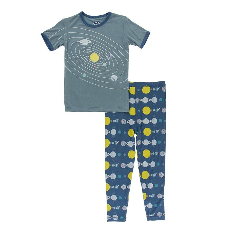 Kickee Pants Twilight Planets PJ