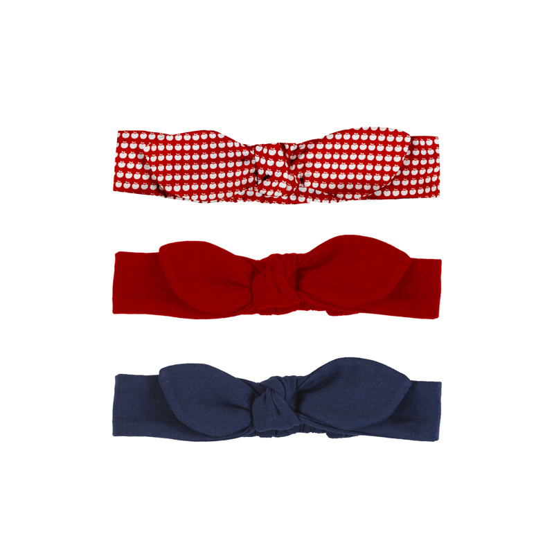 Mayoral Red Set of 3 Headbands