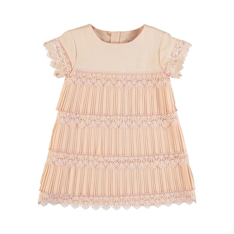 Mayoral Peach Shortsleeve Dress