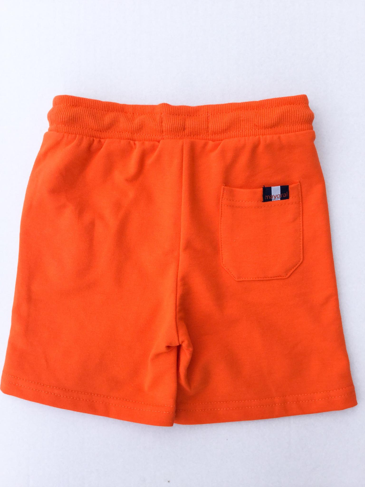 Mayoral Carrot Fleece Short