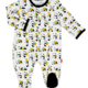 Magnificent Baby Panda Pineapple magnetic footie
