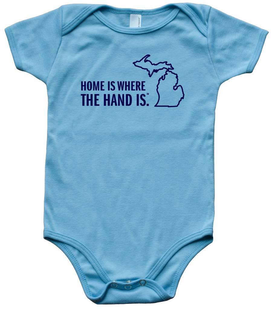 Great State Apparel Home/Hand SS Onesie