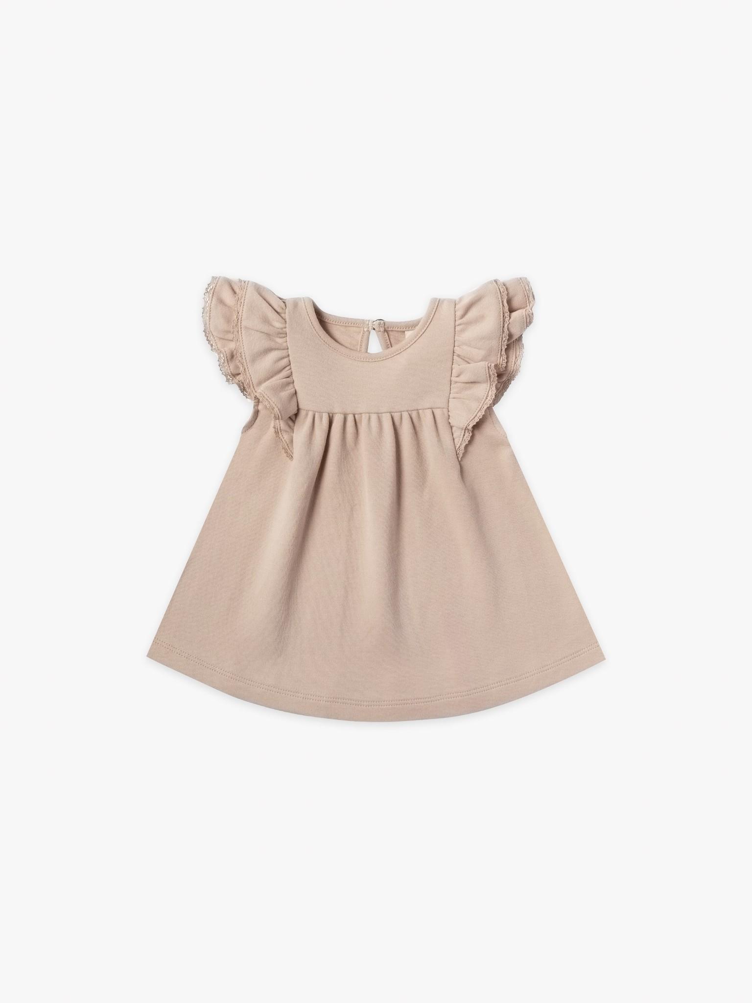 Quincy Mae Flutter Dress Petal