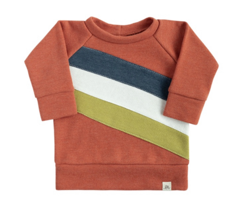 LuluAndRoo Poppy Retro Sweatshirt