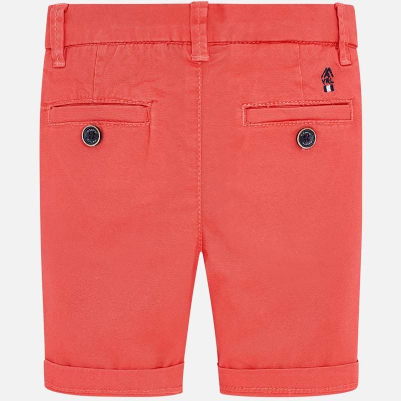 Mayoral Coral Chino Shorts