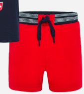 Mayoral Red Pullon Short