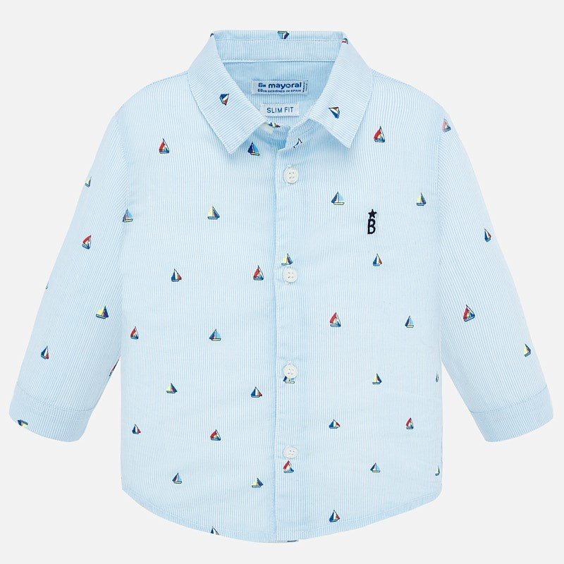 Mayoral Sailboat Button Down