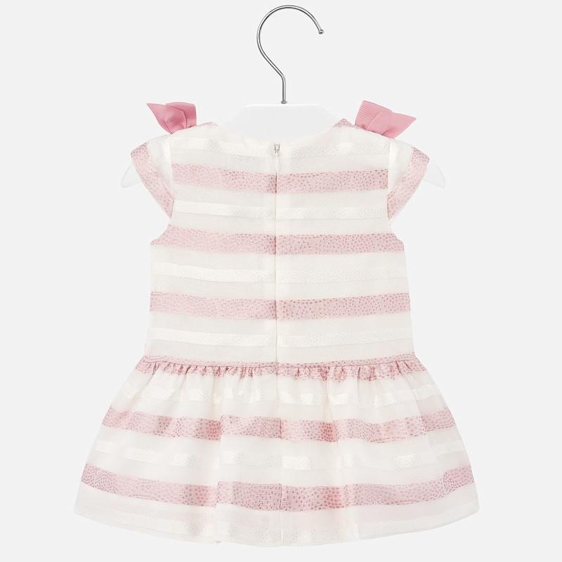 Mayoral Ellie Stripe Dress