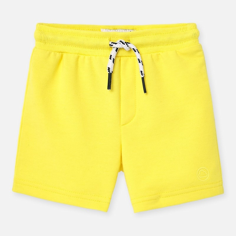 Mayoral Yellow Fleece Shorts