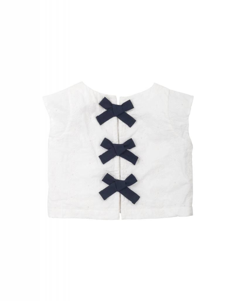 Hatley Cropped Bow Back Shirt