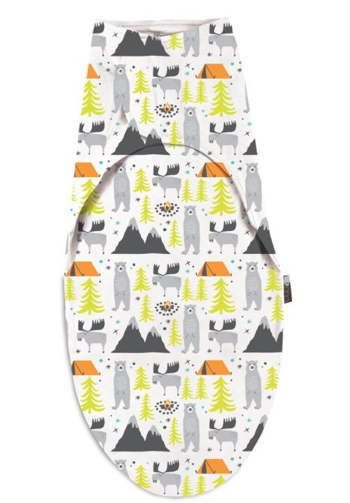 Lucy Darling Little Camper Swaddle