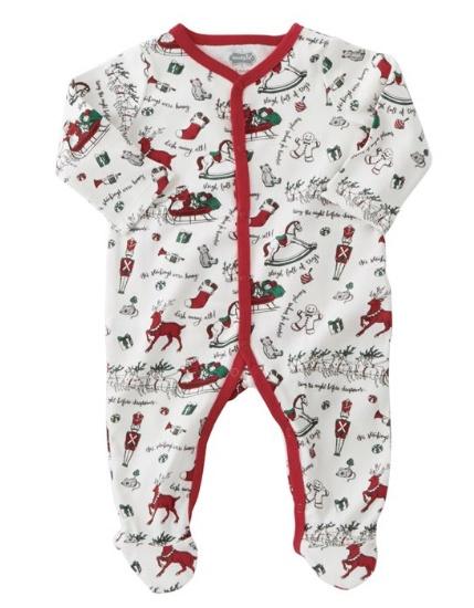 Mudpie Red Merry Christmas Sleeper