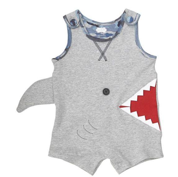 Mudpie Shark Bite Romper