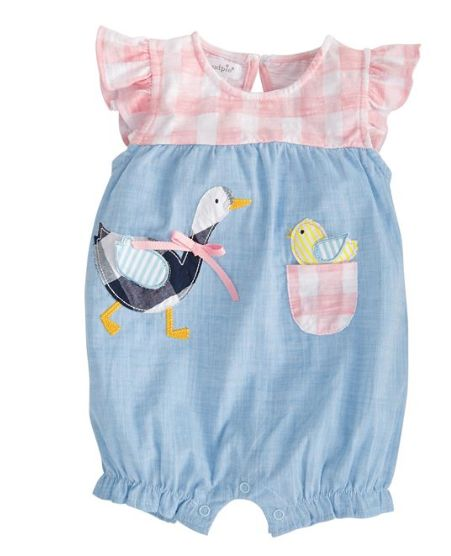 Mudpie Gingham Goose Bubble