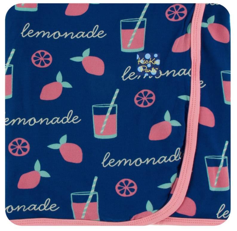 Kickee Pants Pink Lemonade Swaddling Blanket