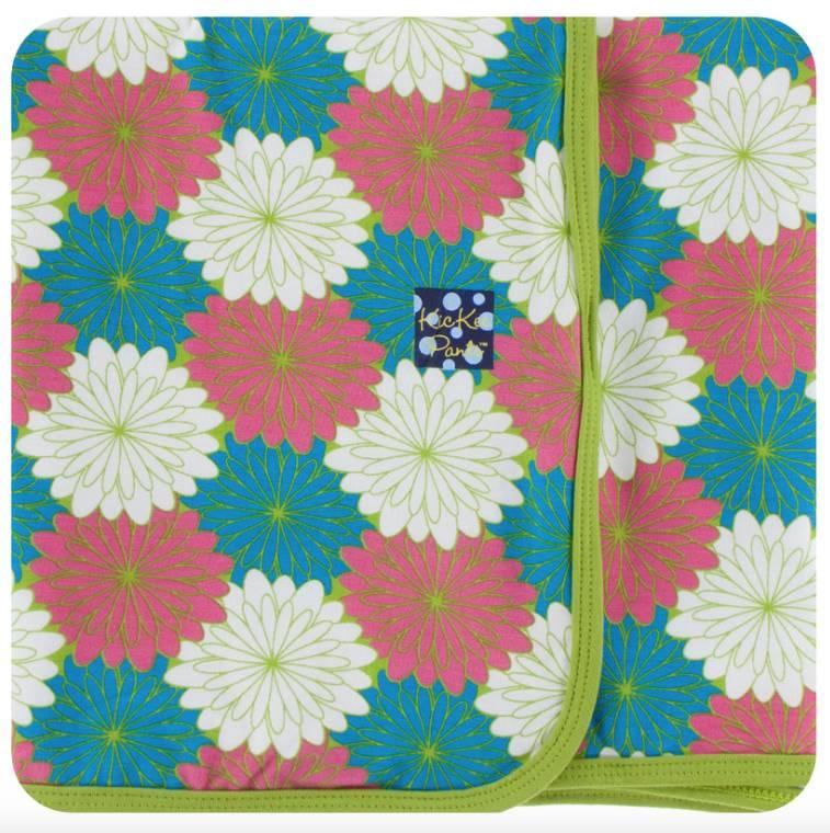 Kickee Pants Tropical Flowers Swaddle Blanket