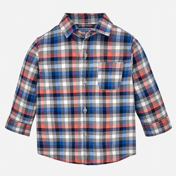Mayoral Longsleeve Checked Shirt
