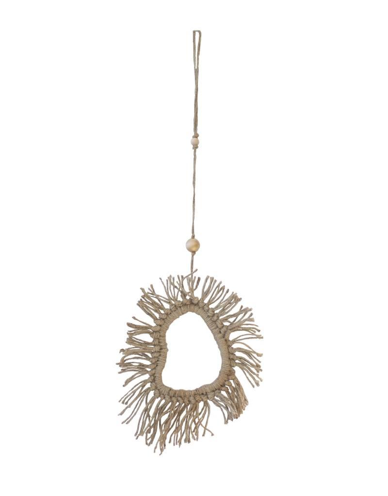 Entouquet Simple Jute Tassel Clay Hanging