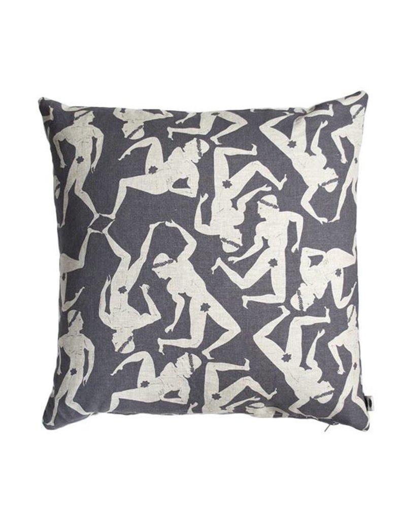 Banquet Atelier & Workshop Wild Men Linen Pillow