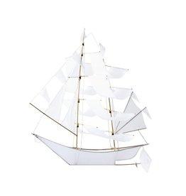 Haptic Lab Ghost Ship Kite - White - Large