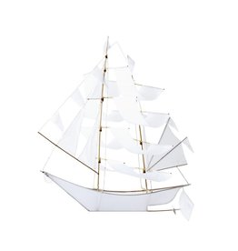 Haptic Lab Ghost Ship Kite - White