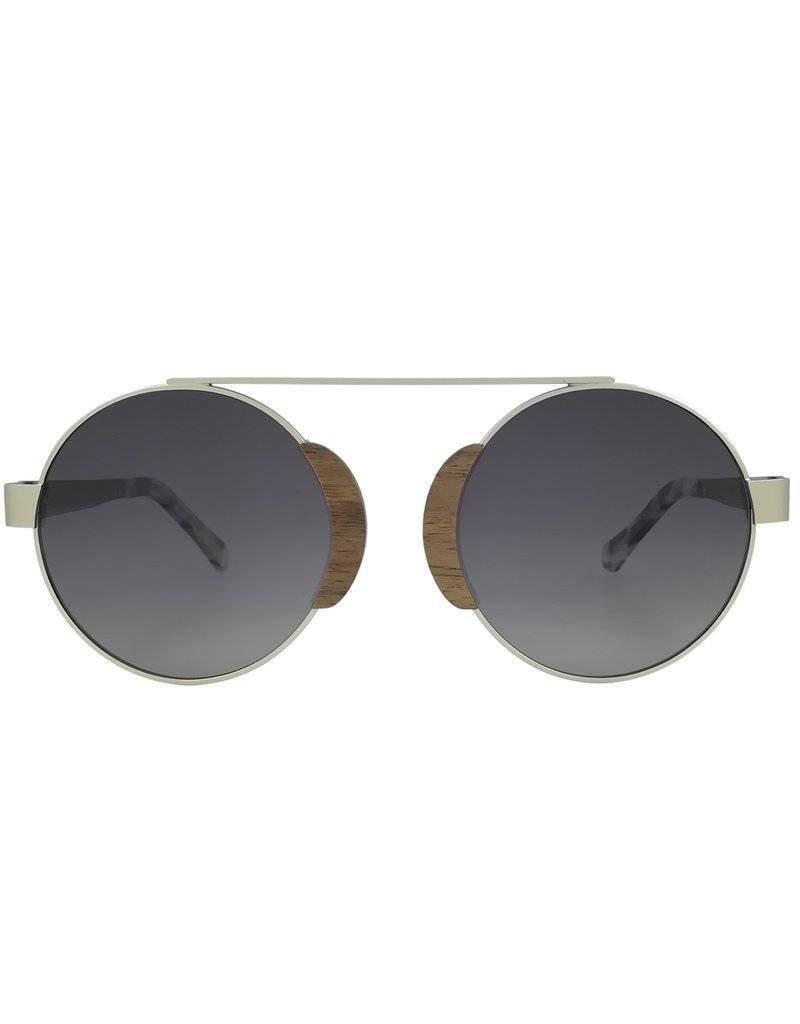Analog Watch Co. Arlo - Walnut + Grey Lens