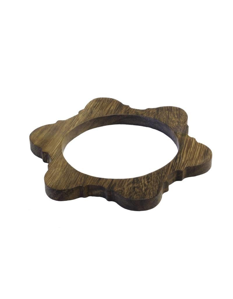 Bluma Project Arch Bangle - Wood