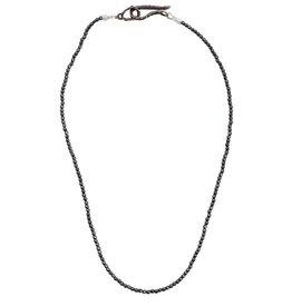 Lauren Wolf Jewelry Strand Necklace - Hematite