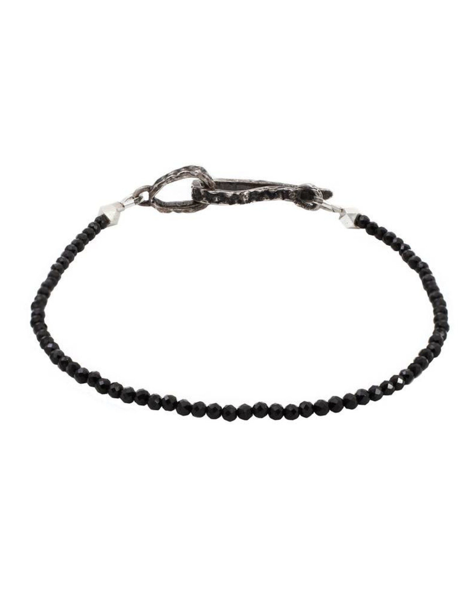 Lauren Wolf Jewelry Strand Bracelet - Black Spinel