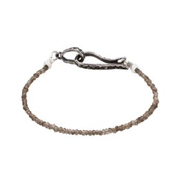 Lauren Wolf Jewelry Strand Bracelet - Smoky Quartz