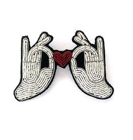 Macon & Lesquoy 'Heart In My Hands' Pin