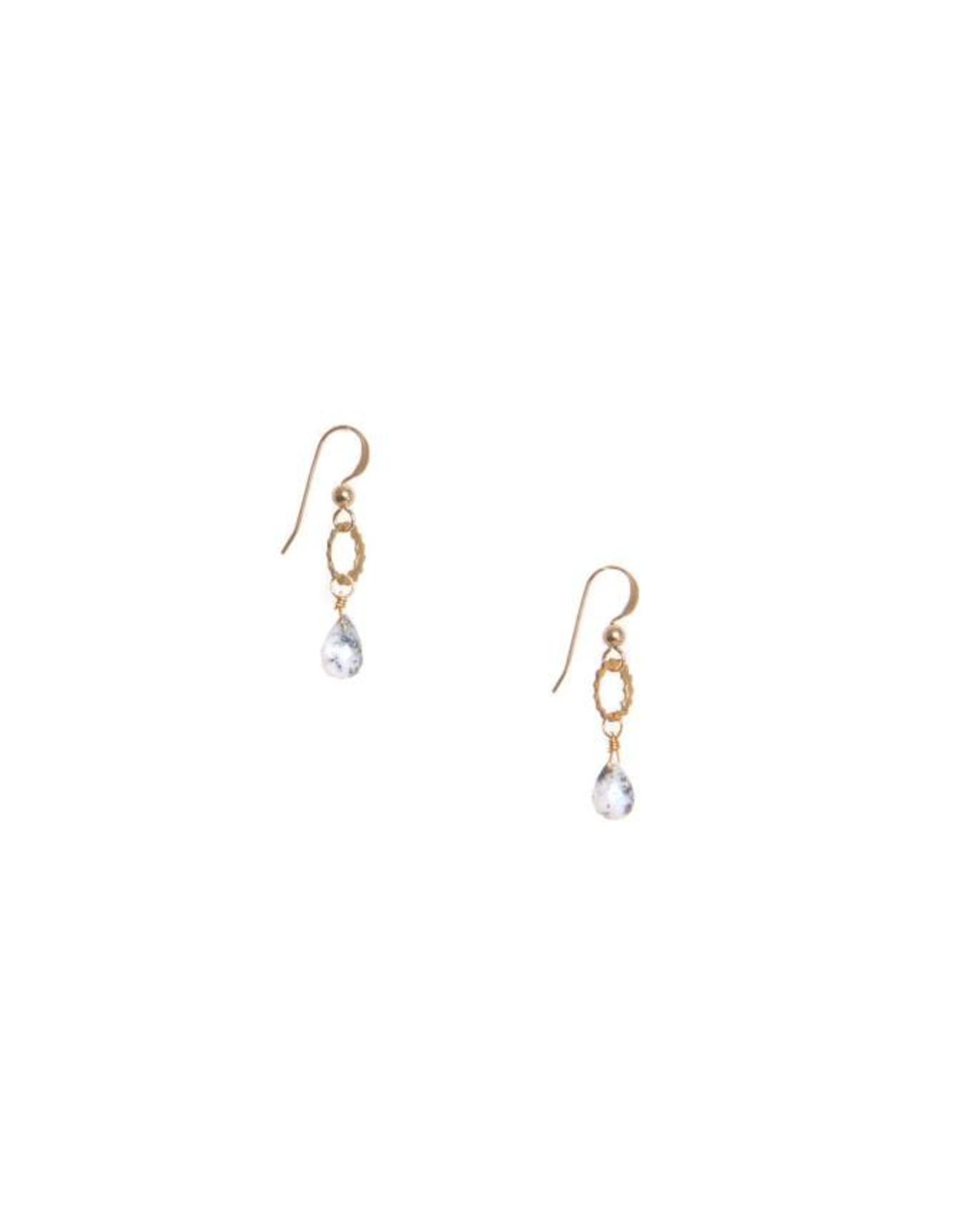 Hailey Gerrits Designs Eos Earrings - Dendrite Opal