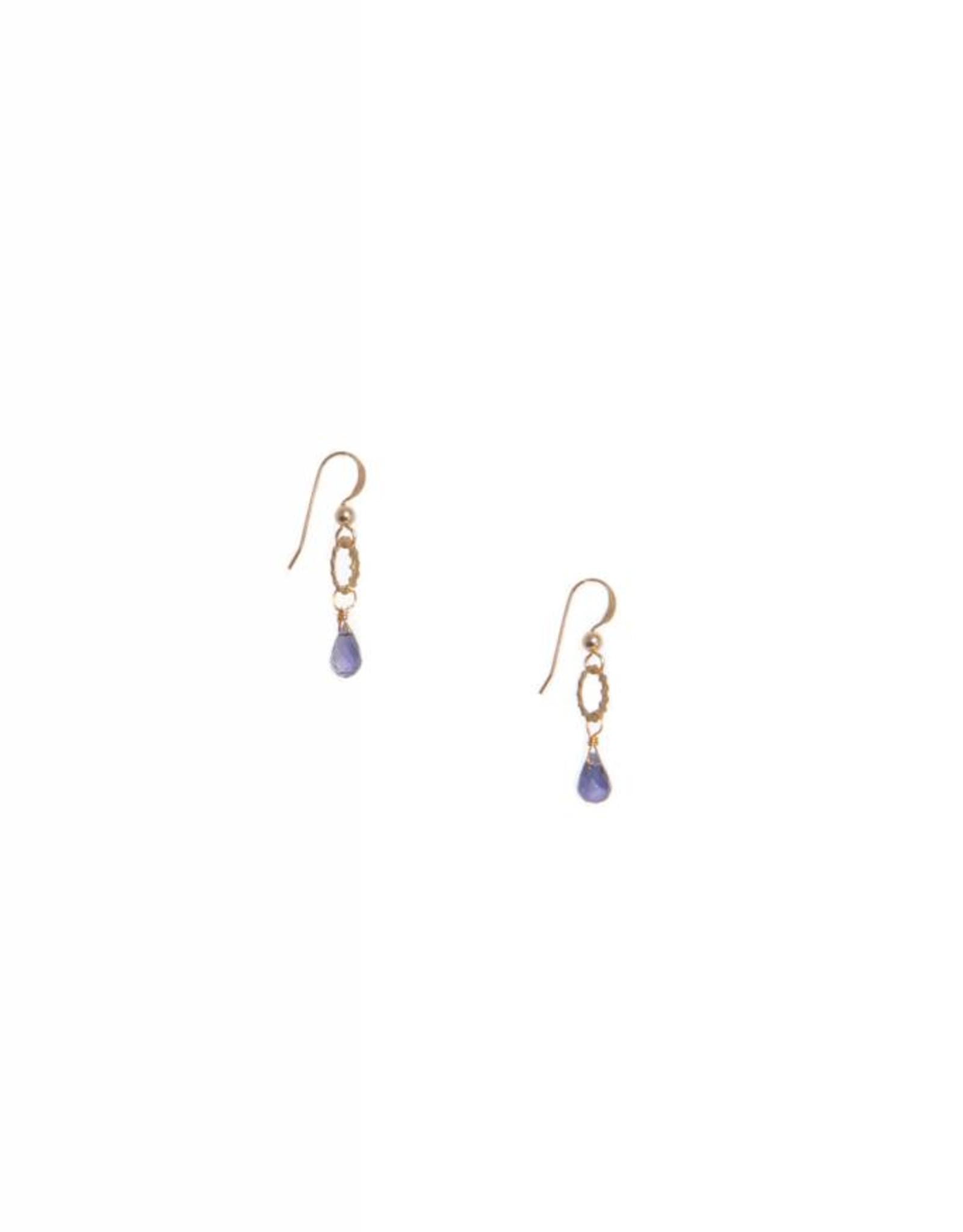 Hailey Gerrits Designs Eos Earrings - Iolite