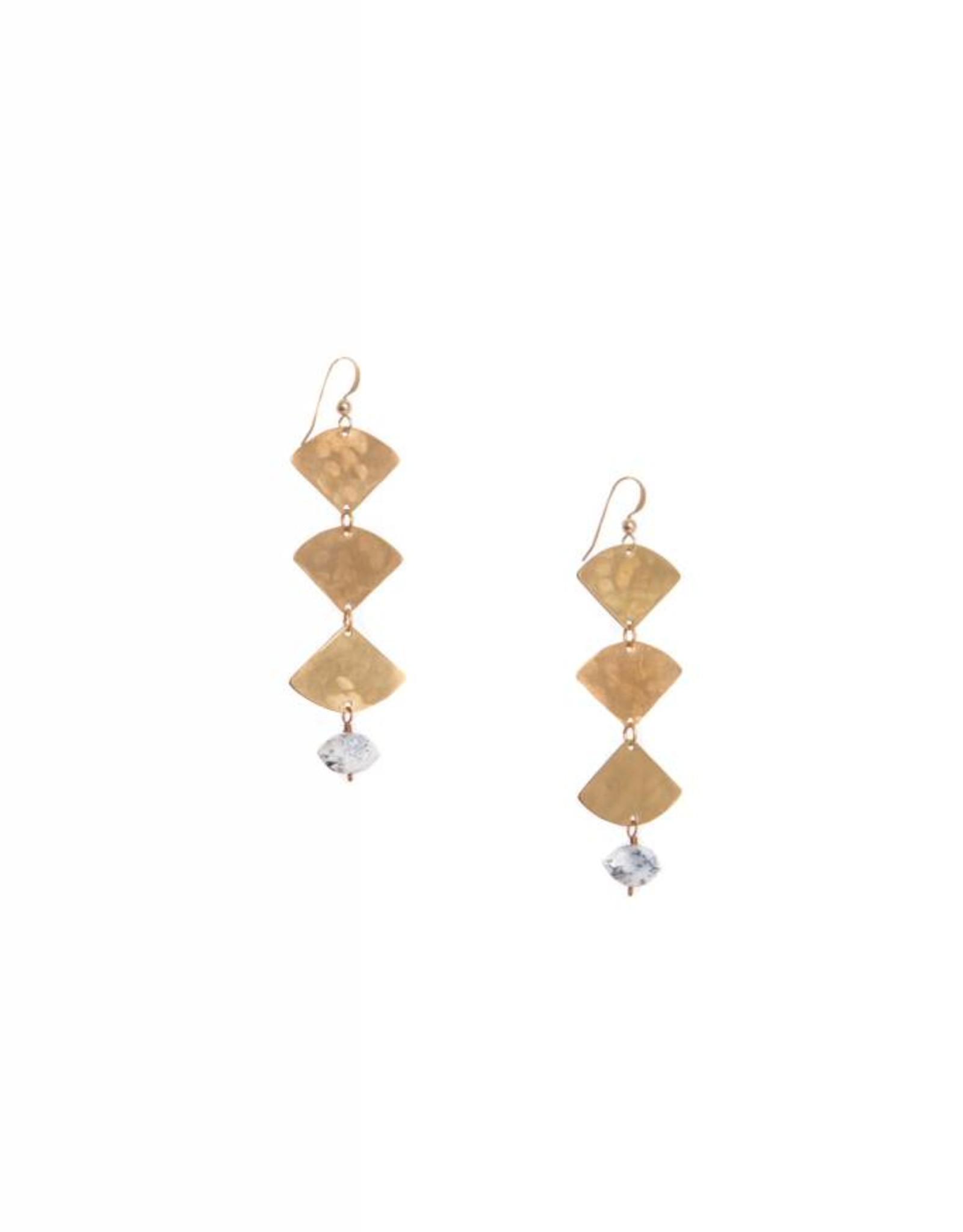Hailey Gerrits Designs Mella Earrings - Dendrite Opal